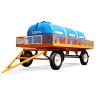 Acoplado Tanque Polietileno 3200 litros